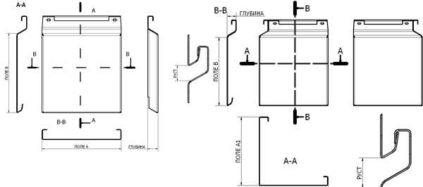 Фасадные металлокассеты закрытого типа